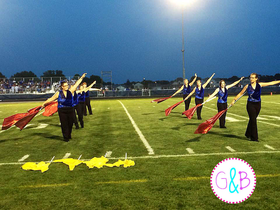 My lovely squad performing during halftime in the Fall of 2014